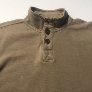 EDDIE BAUER Mens Medium Tan Long Sleeve Shirt